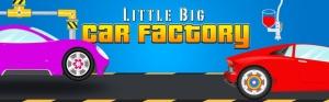 Little Big Car Factory - app que promete viciar crianças a escrever mais palavras para fazer mais corridas